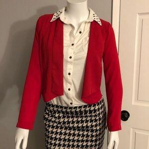 Womens Tuxedo Style Jacket